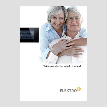 Titel Broschüre Elektroinstallation im AAL-Umfeld