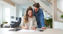 Symbolbild Eigenkapital bei der Immobilienfinanzierung