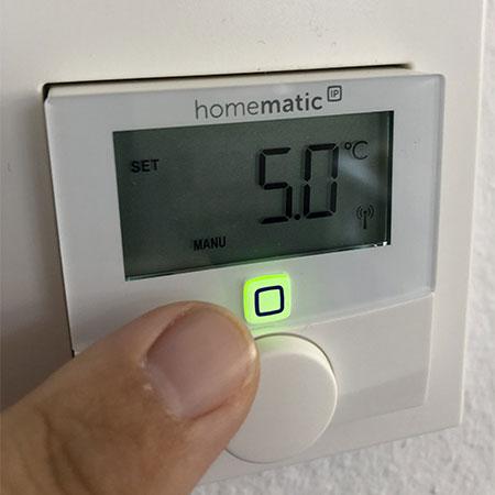 Basisstation der Homematic-IP-Serie von eQ-3