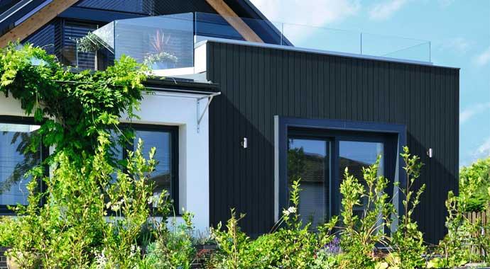 Consolan Wetterschutzfarbe für die Hausfassade