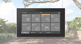 Touchpanel Fabro KNX von Elsner Elektronik