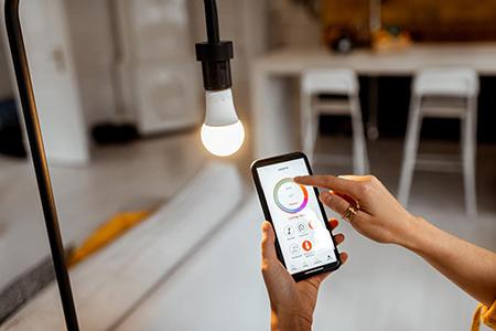 Smarte Lichtsteuerung