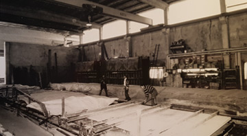 Glatthaar Keller Produktion in den 1980ern