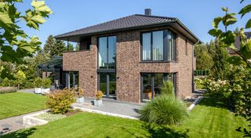 Außenansicht Haus Jessen von Baumeister-Haus