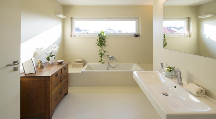 Fingerhaus badezimmer  FingerHaus: Kundenhaus VIO