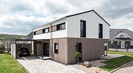 Außenansicht Musterhaus Design183 von Frammelsberger